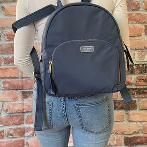 Kate spade MEDIUM backpack dawn blue NYLON bag